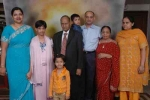 Com. Krishan Lal with family