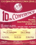 10th Conference Poster